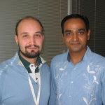 Enrico e Avinash Kushik in San Francisco