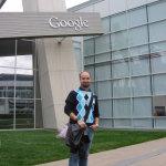 Enrico at Google HQ