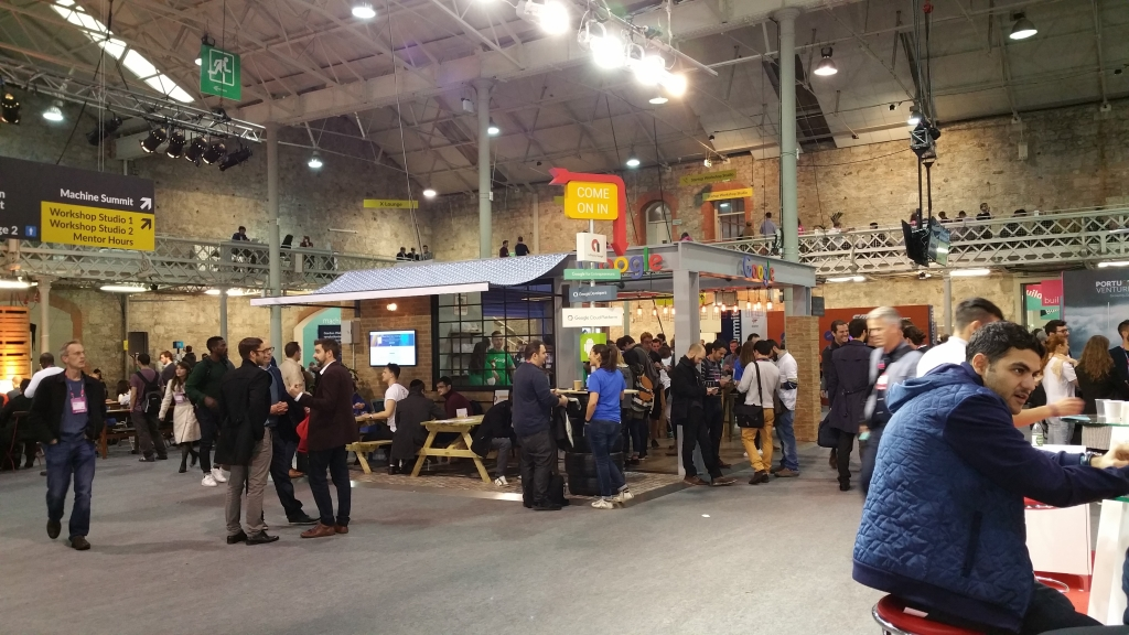 Web Summit 2015 Dublino walking area