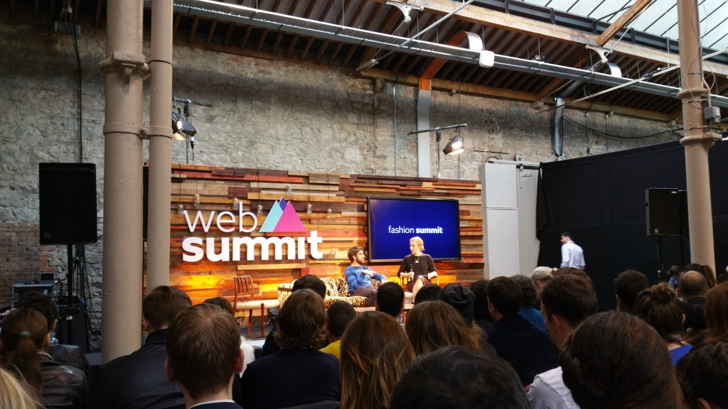 Web Summit 2015 Dublino fashion stage