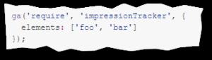Impression Tracker