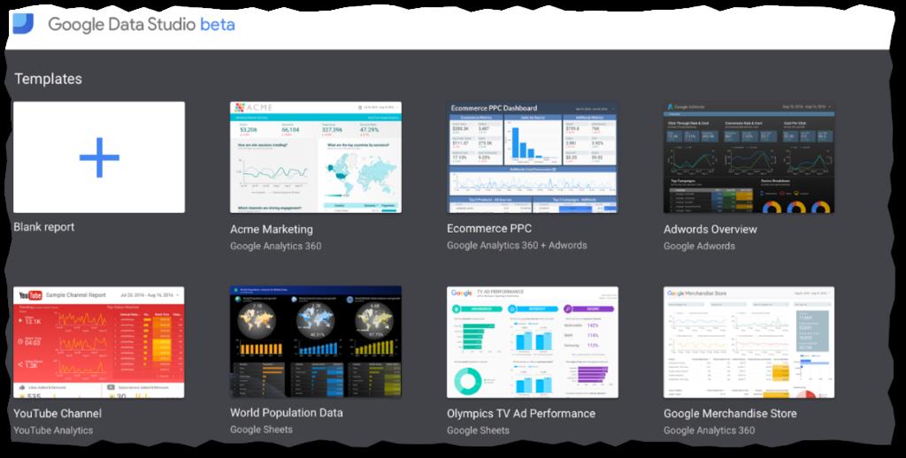 google-data-studio-templates