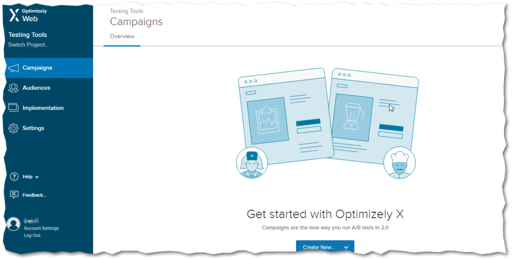 optimizely-home-page