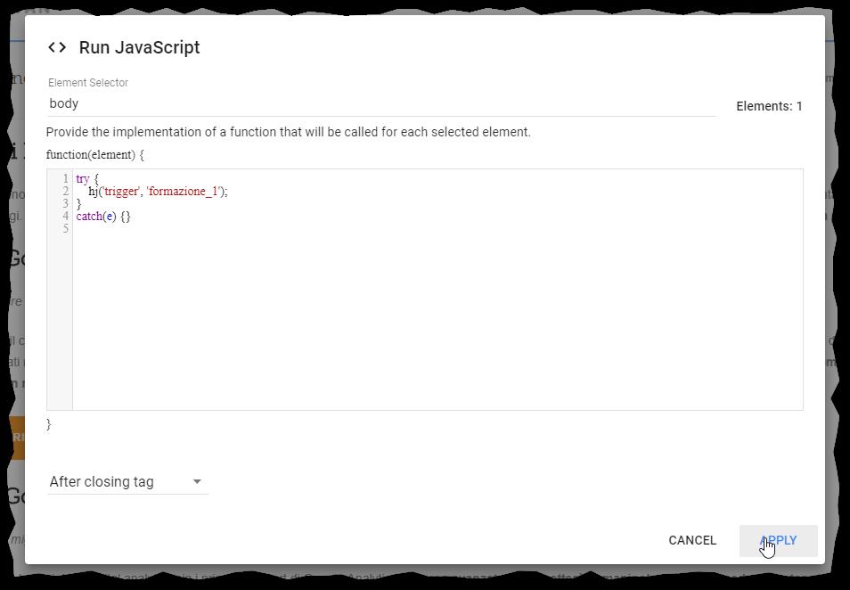 Optimize javascript script
