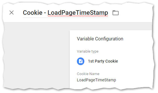 Cookie Google Tag Manager