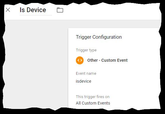 GTM custom event trigger