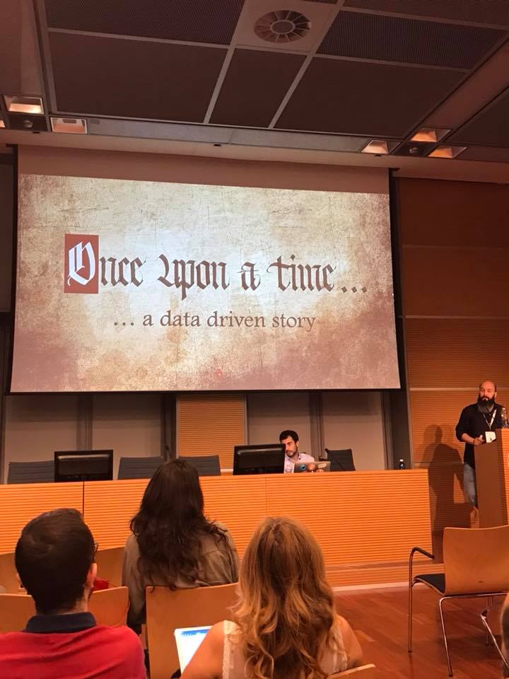 enrico pavan once upon a time a data driven story