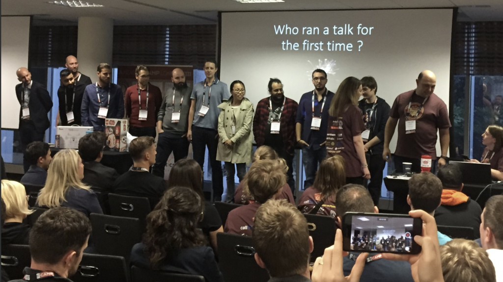first time speaker measurecamp london