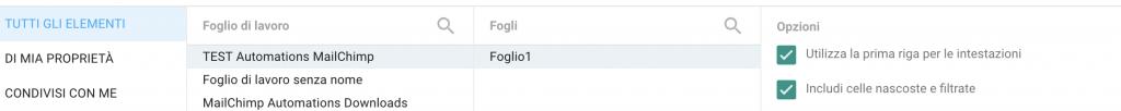 Google Data Studio Google SpreadSheet Upload