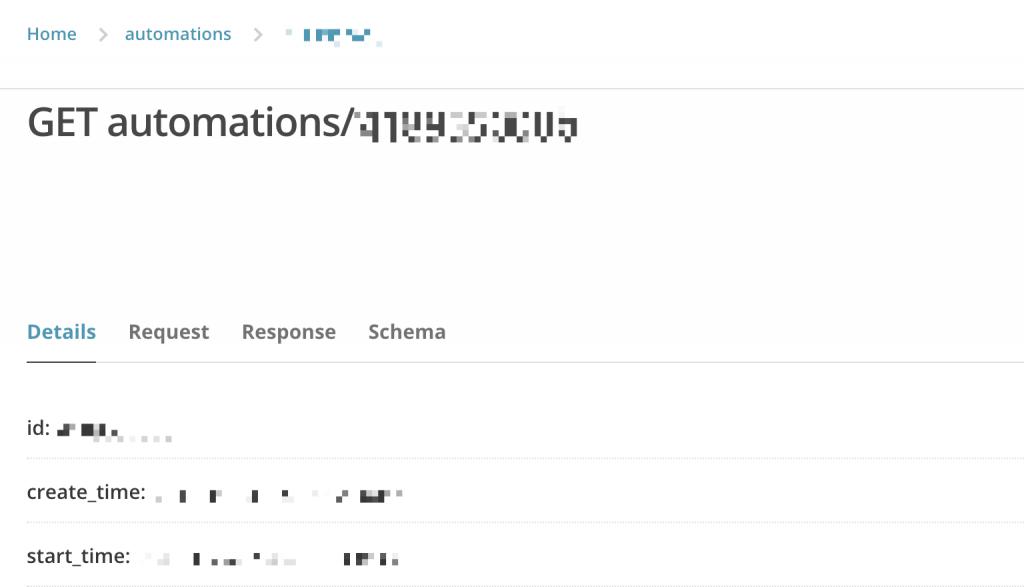 MailChimp API Playground Automations singleID