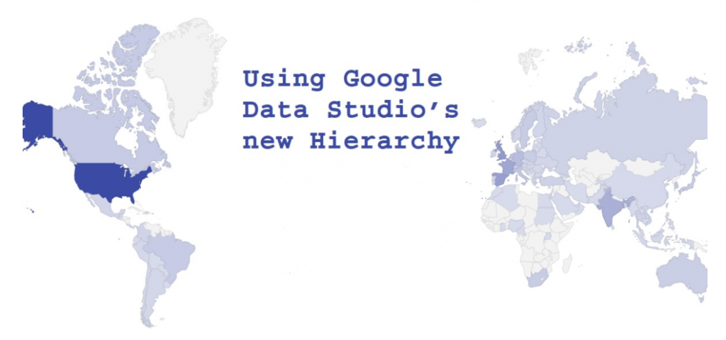 Google Data Studio Gerarchia