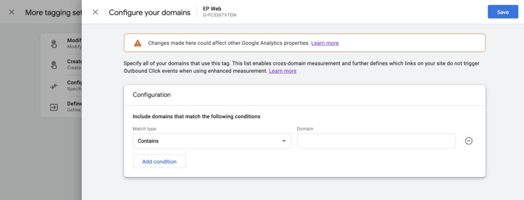 GA - Cross Domain Tracking