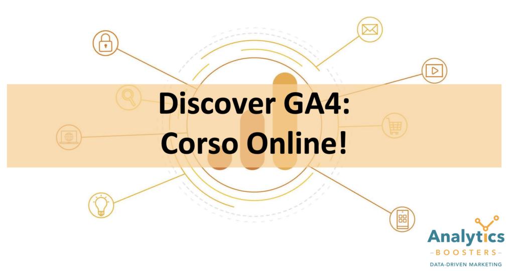 Corso GA4 Online