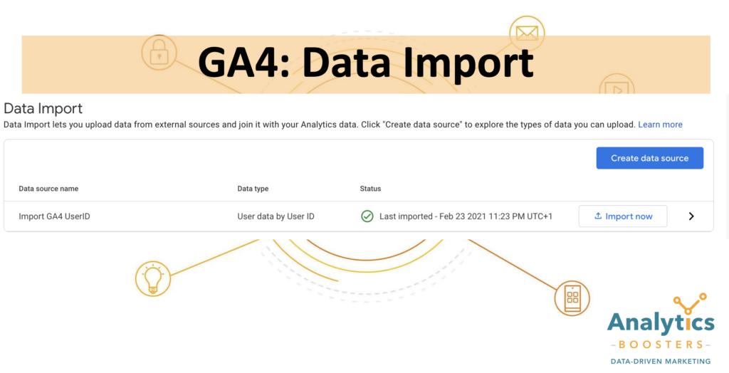 GA4 Data Import