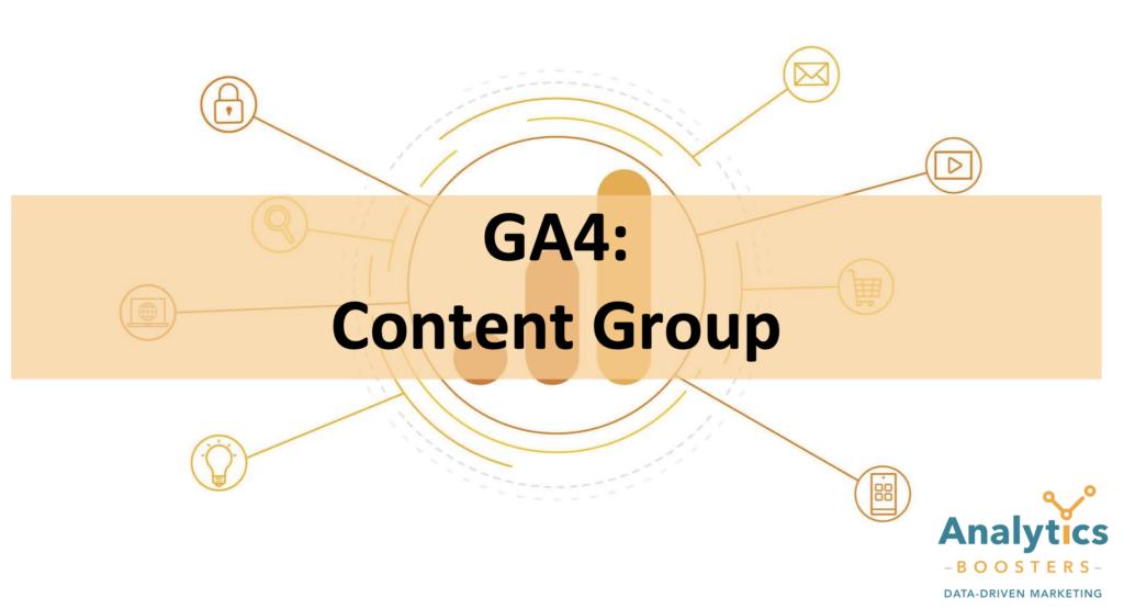 Content Group GA4