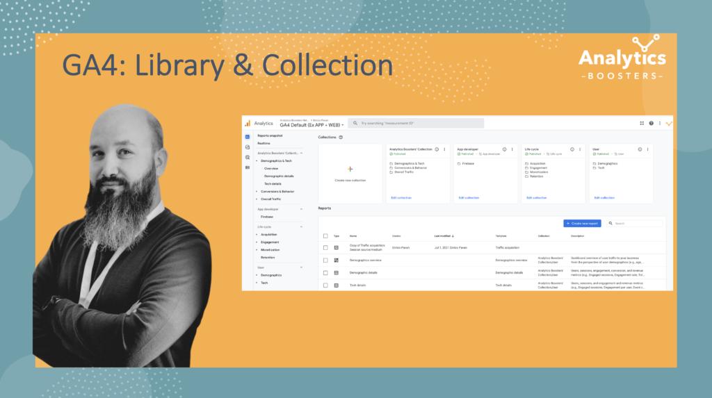 GA4 Library & Collection